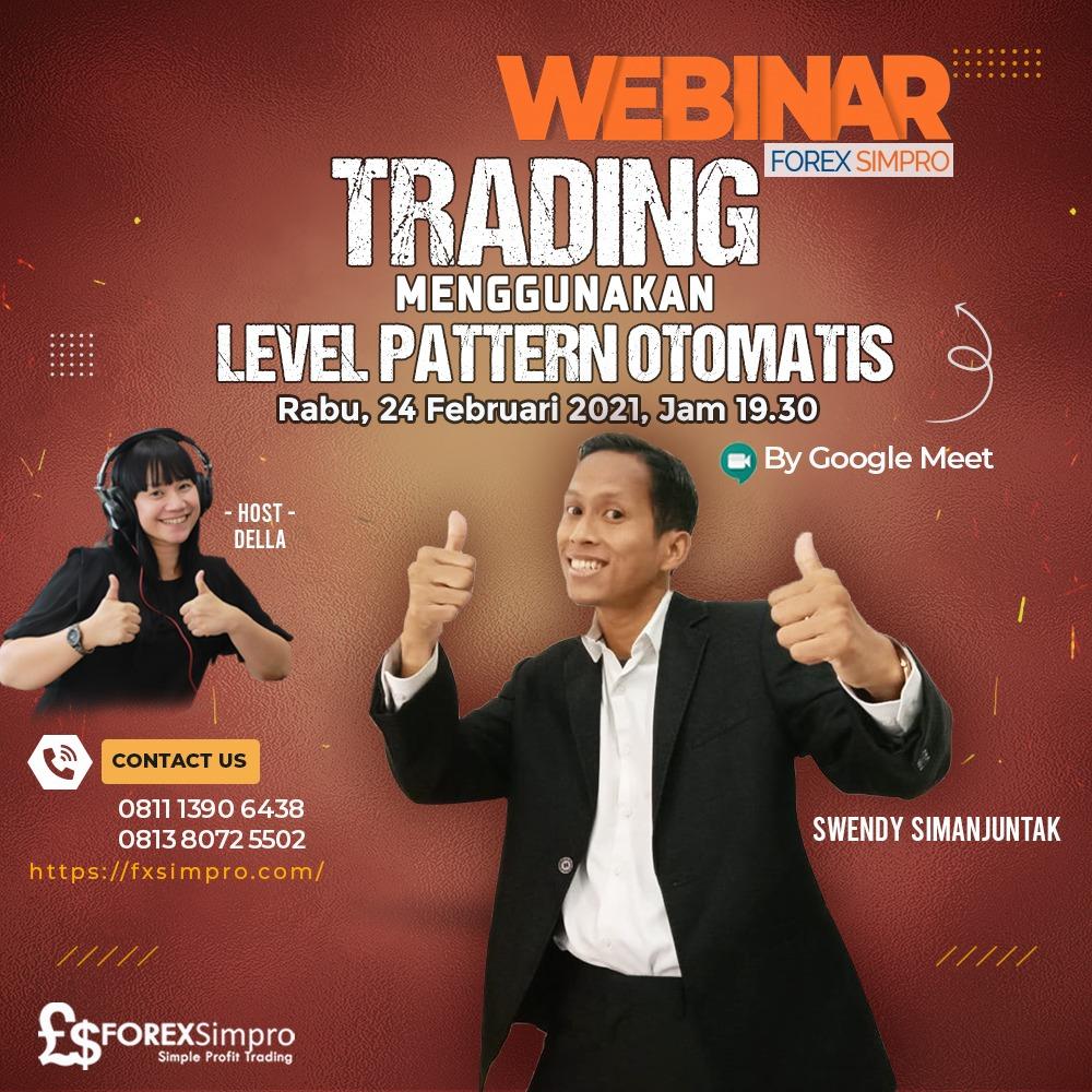 Trading Menggunakan Level Pattern Otomatis