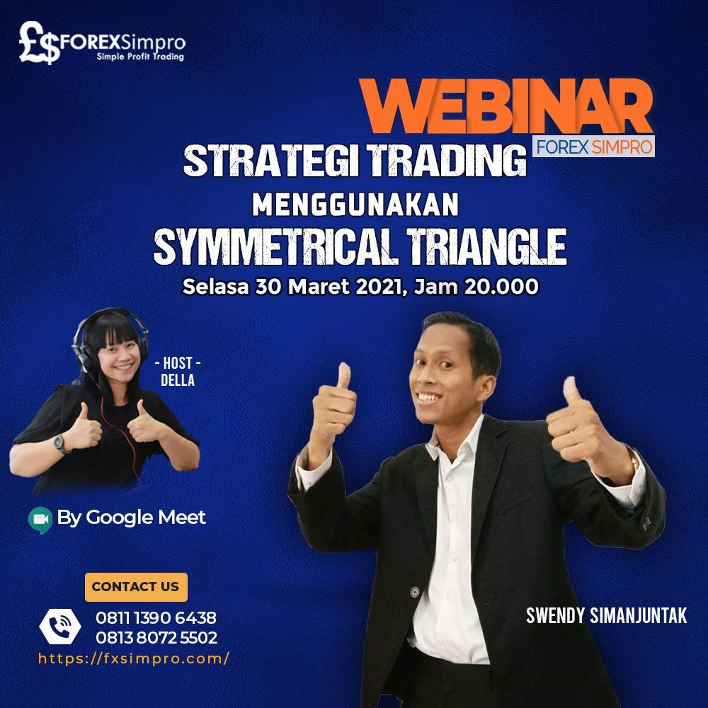 Webinar Strategi Trading Menggunakan Symetrical Triangle
