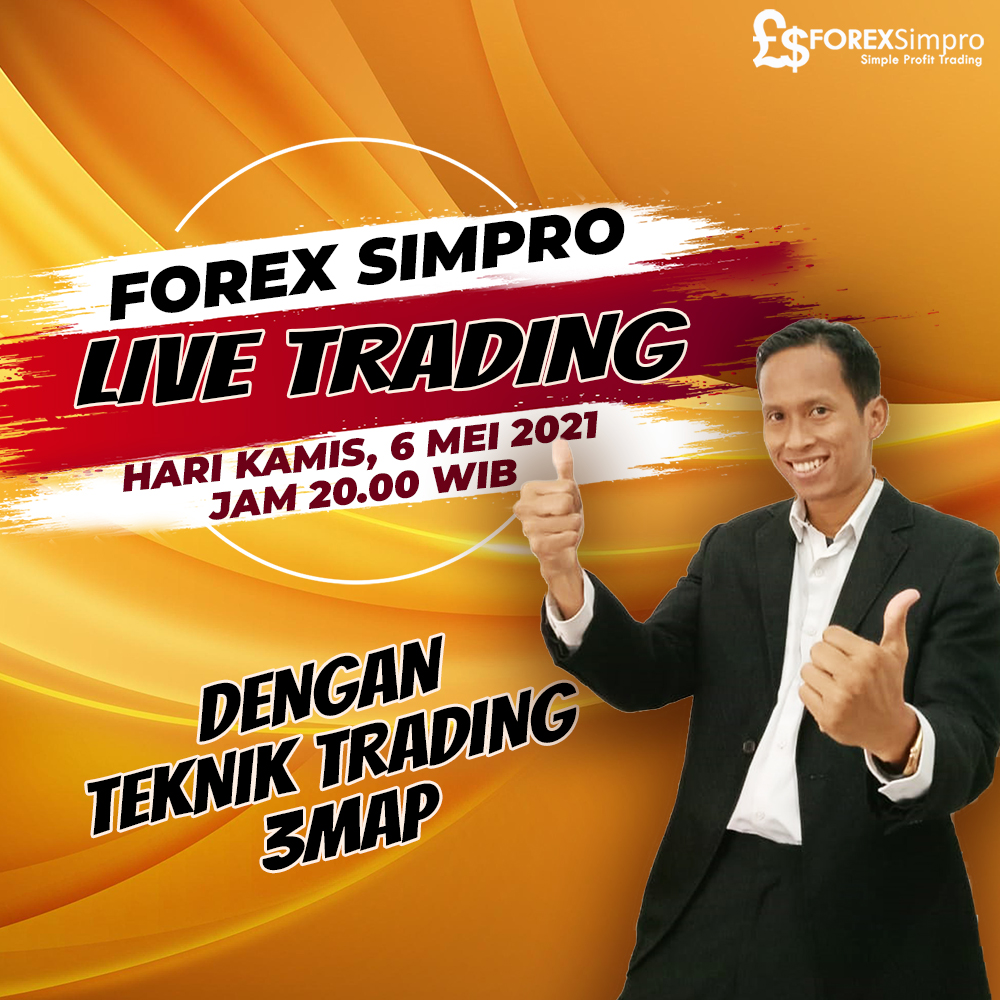 Live Trading SWD 3MAP - 6 Mei 2021