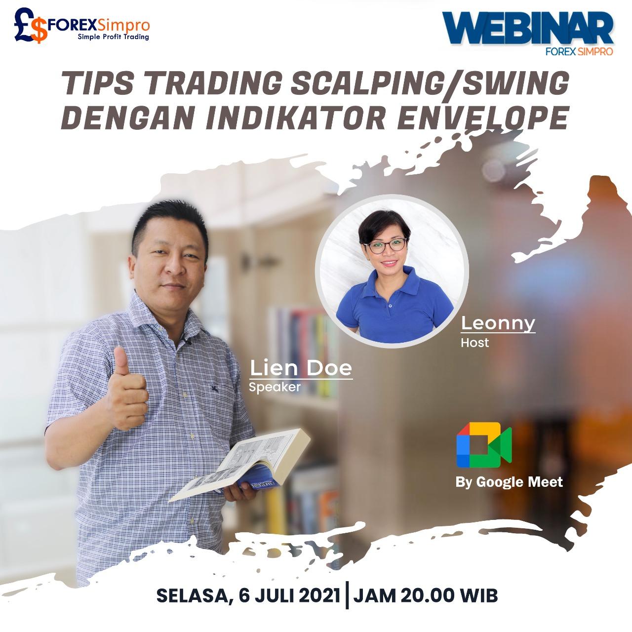 Webinar Tips Trading Scalping/Swing dengan Indikator Envelope