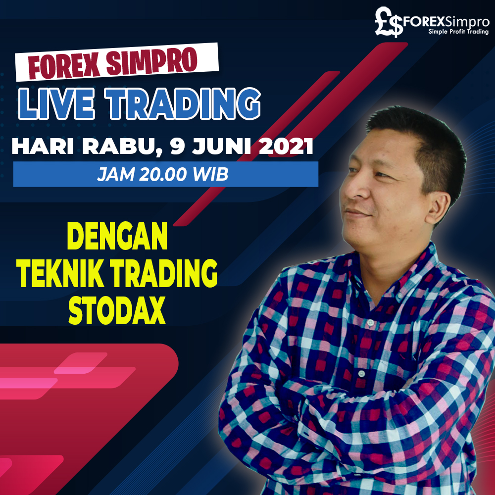 Live Trading Dengan Teknik STODAX - 9 Juni 2021