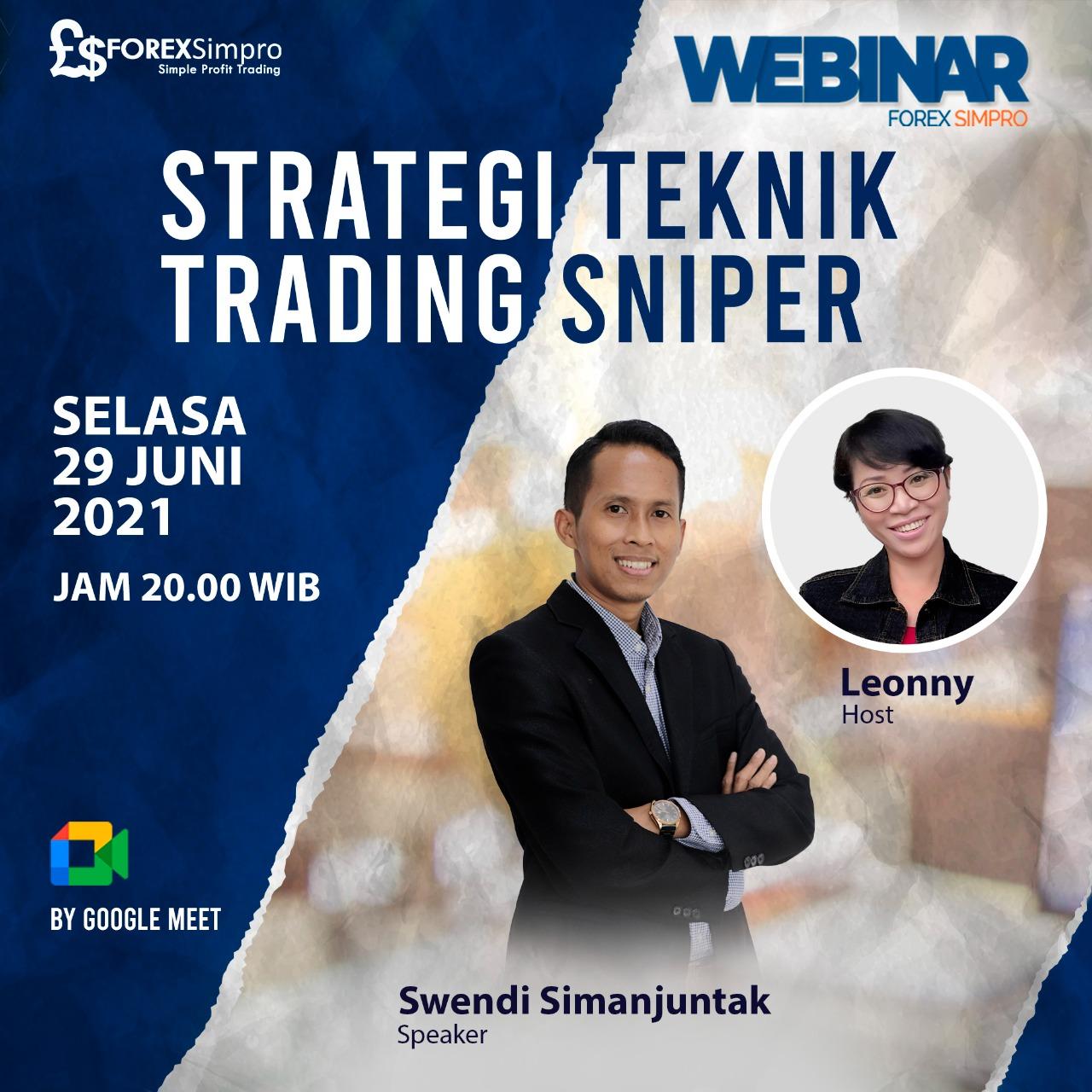 Webinar Strategi Teknik Trading Sniper