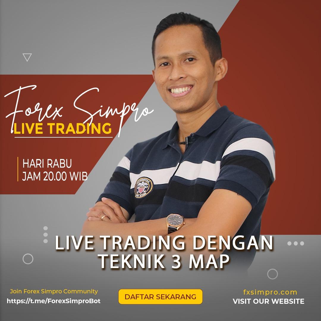 Live Trading Dengan Teknik 3MAP - 4 Agustus 2021