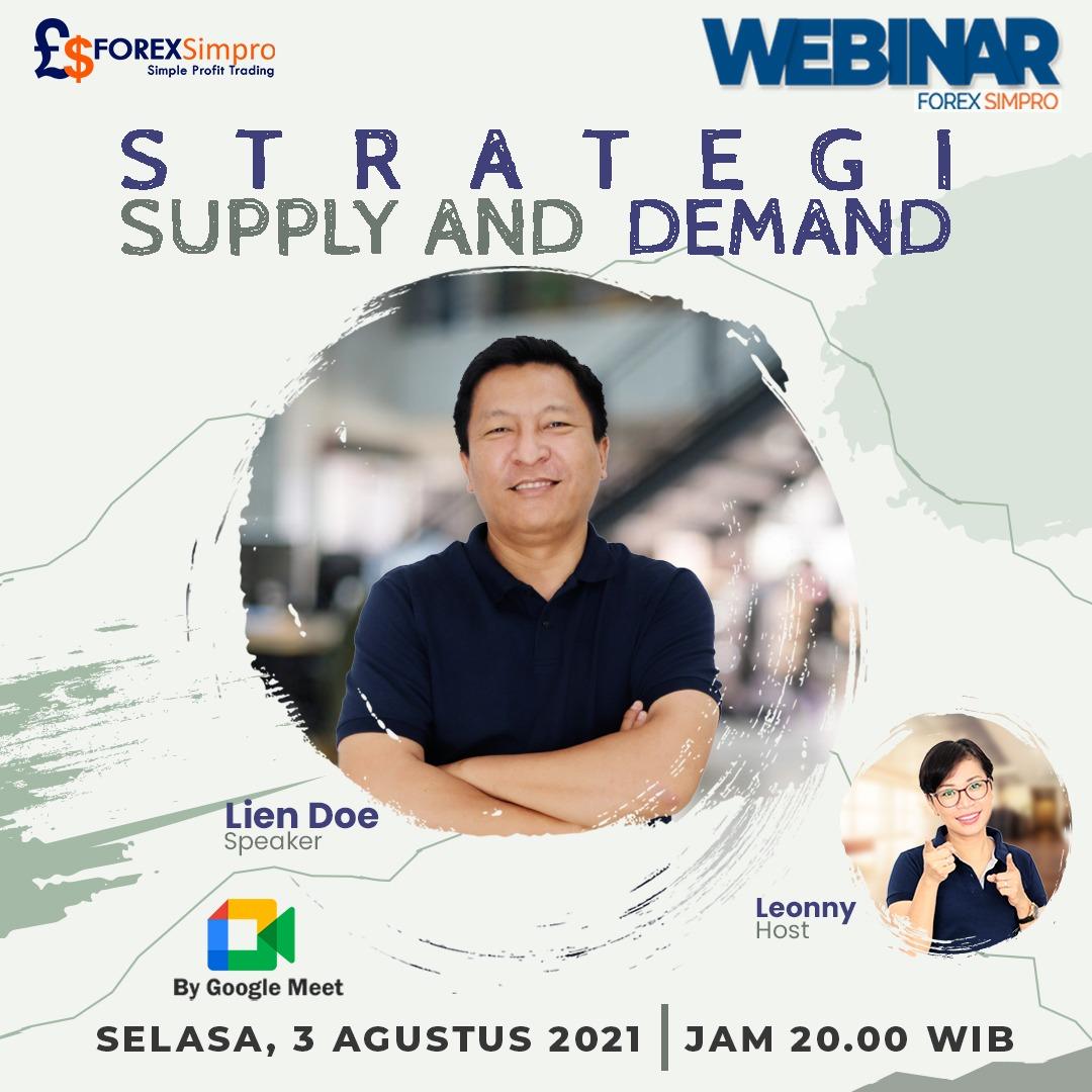 Webinar - Strategi Supply and demand