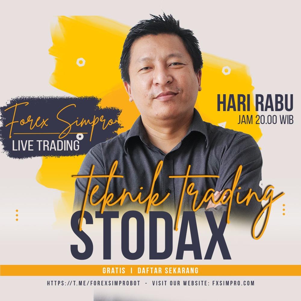 Live Trading Dengan Teknik STODAX - 25 Agustus 2021