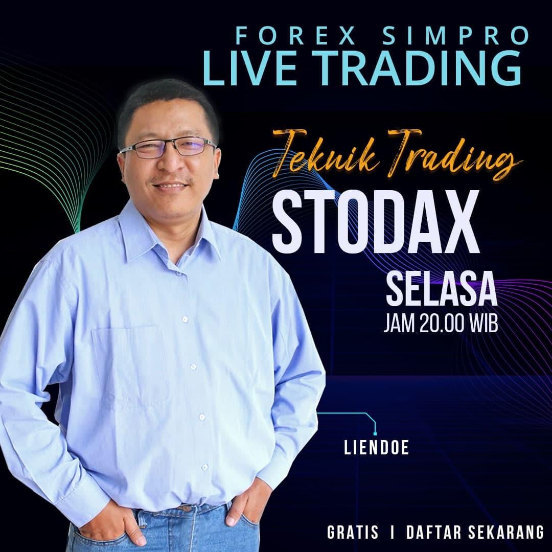 Live Trading Dengan Teknik STODAX - 6 Oktober 2021