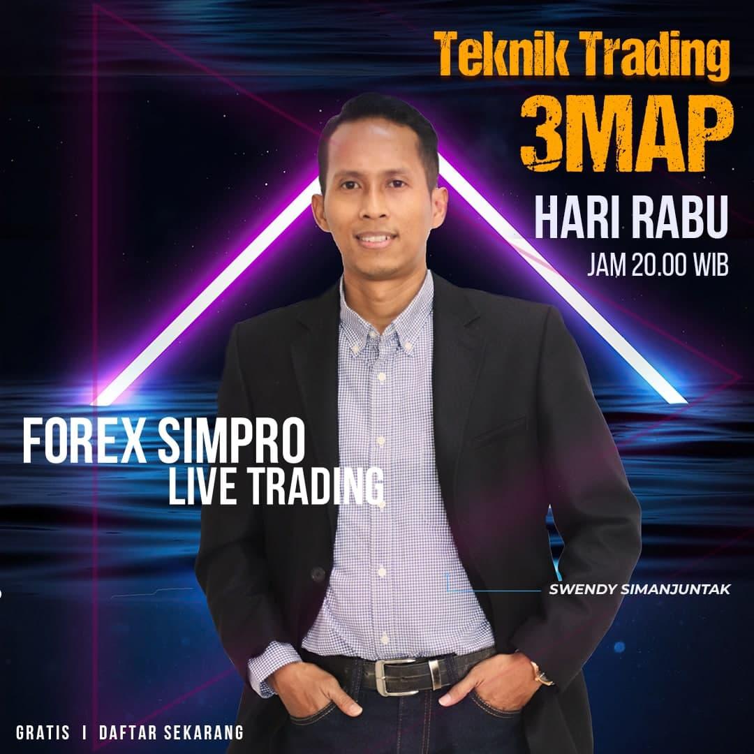 Live Trading Dengan Teknik 3MAP - 22 September 2021