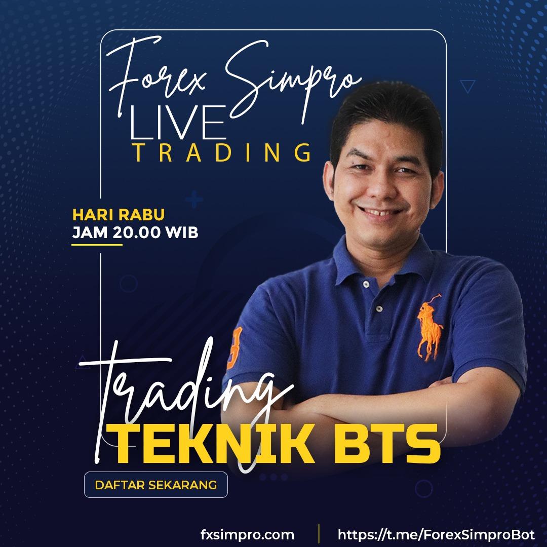 Live Trading Dengan Teknik BTS - 8 September 2021