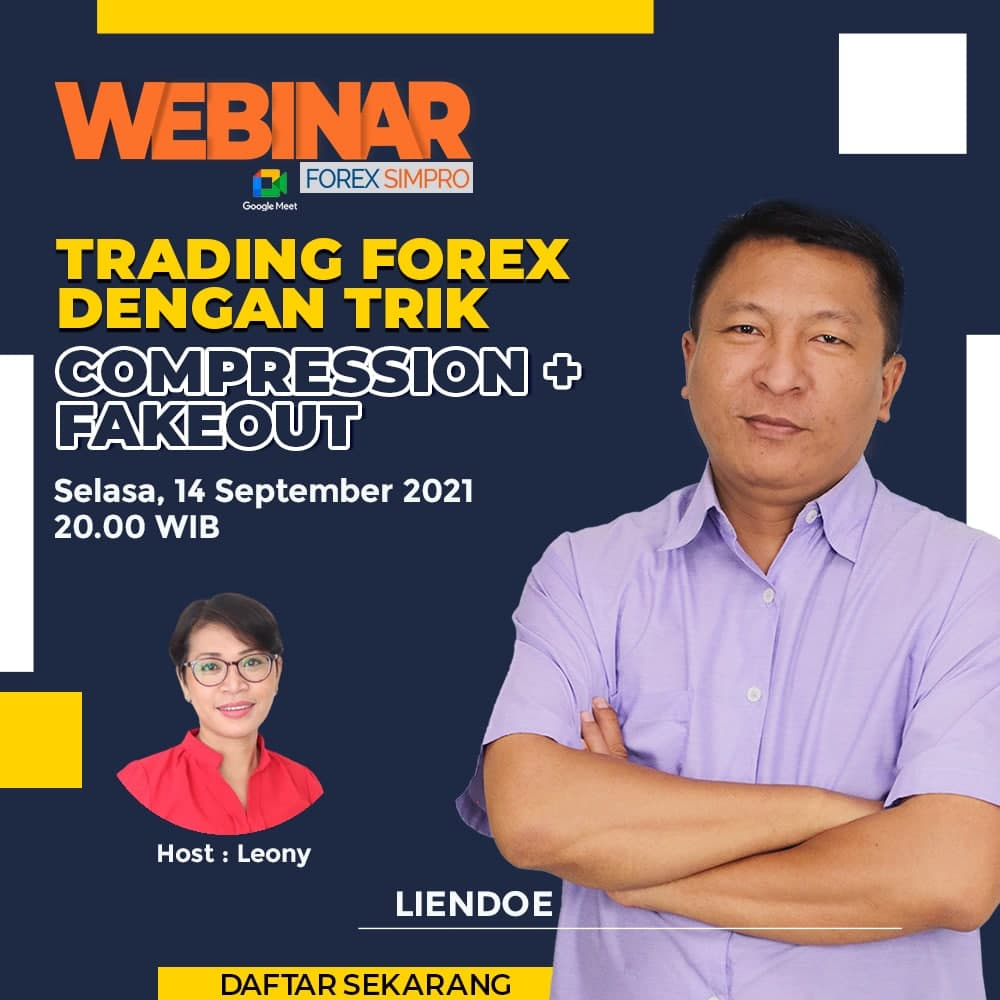 Webinar - Trading Forex dengan Trik Compression + Fakeout