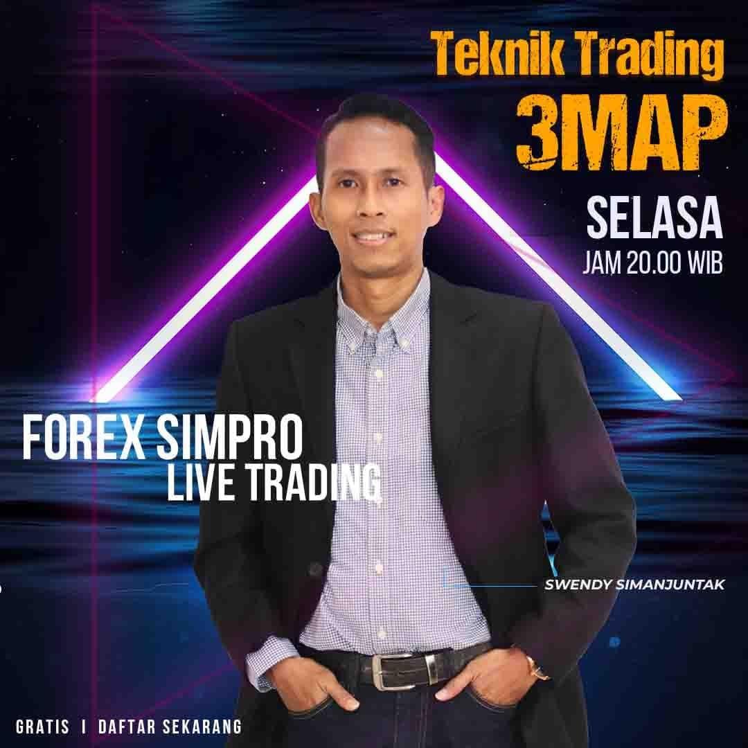 Live Trading Dengan Teknik 3MAP - 9 November 2021
